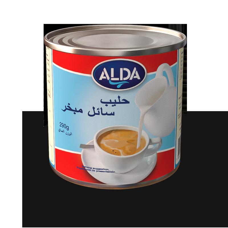 ALDA Evaporated Milk in Tins