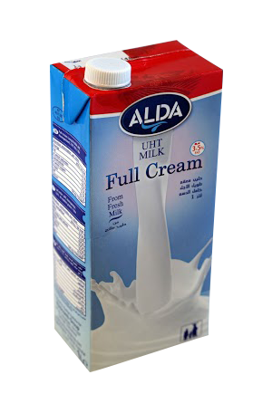 ALDA UHT long-life Milk made from pure and fresh cow milk