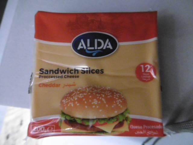 ALDA sliced cheese for sandwiches