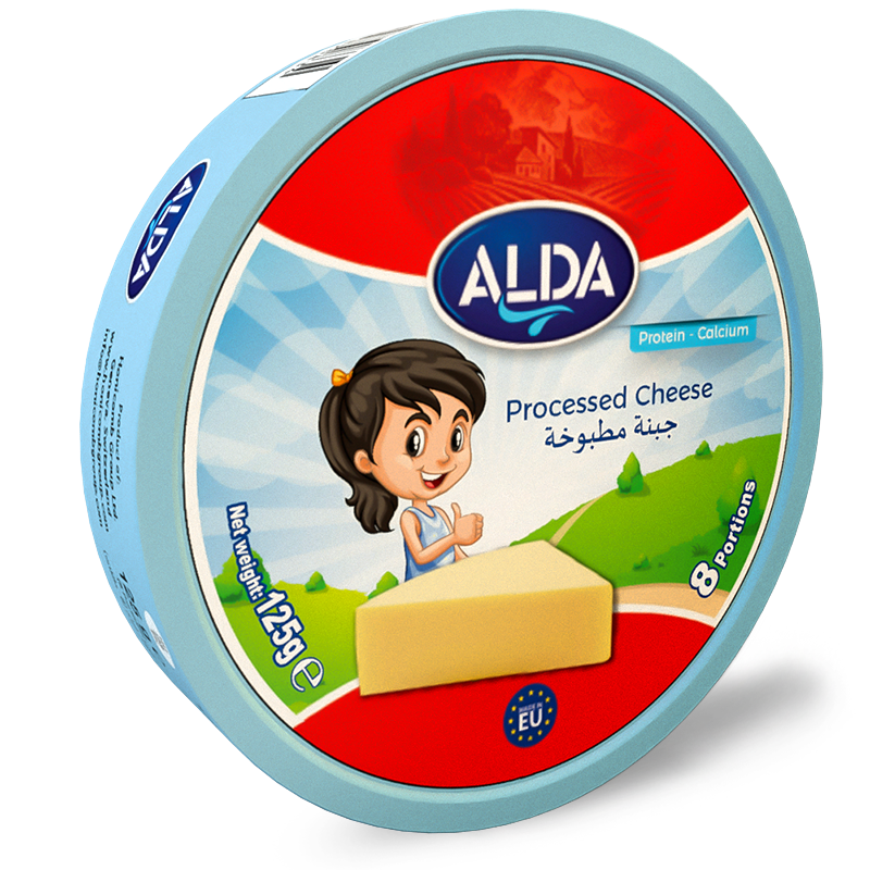 alda triangles creamy spread cheese